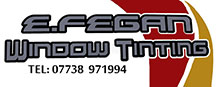 E Fegan - Car Window Fitting and Window Tinting Logo
