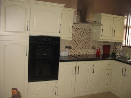 Kitchen Cabinet Door Respray