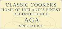 Classic Cookers Reconditioned AGA Specialists Logo