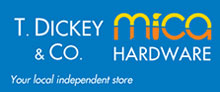 T Dickey & Co Mica HardwareLogo