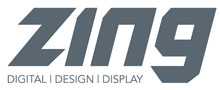 Zing Design and Print Logo